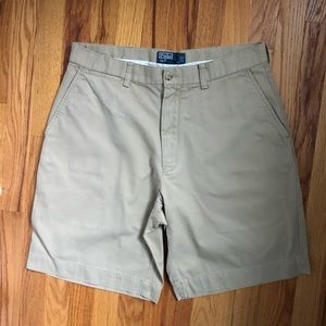 Tan Polo shorts